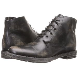 Bed Stu Hoover Chukka Style Black Distressed Boots